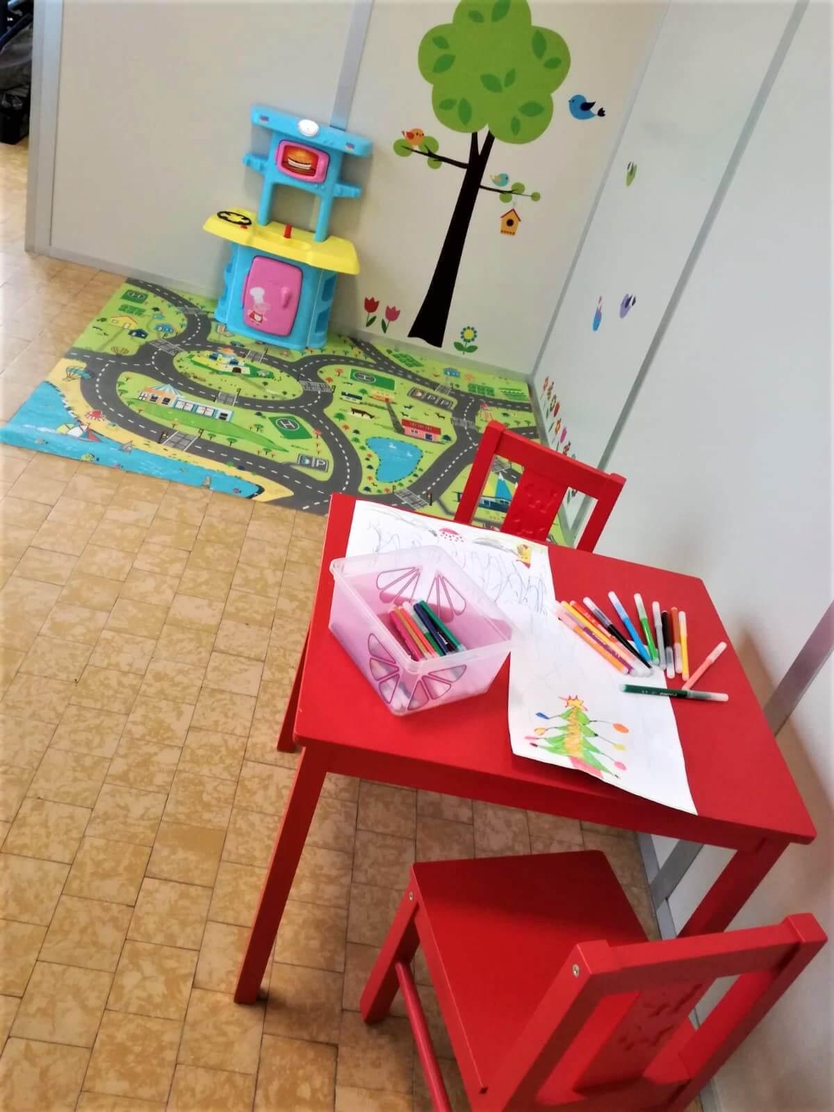 Area Gioco Relax Tavolino
