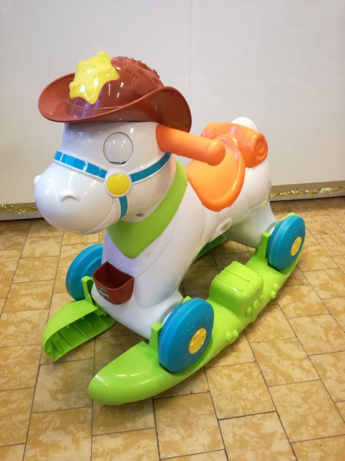 Chicco Rodeo Con Dondolo.Cavallo Interattivo Rodeo Chicco Mybabymarket